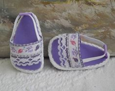 American Girl Doll Clothes Sandals Shoes by sewgrandmacathy