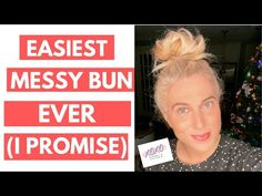 How to Do a Messy Bun with Thick Hair - Looking for a simple hairstyle to do on your own hair? This messy bun tutorial is super easy. Mess Bun Tutorial, Short Hair Updo Tutorial, Messy Bun For Short Hair, Easy Messy Bun, All Hairstyles, Messy Bun Hairstyles, Bun Tutorials, Great Hair, Thick Hair
