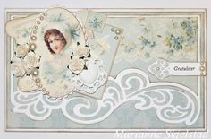 A gorgeous vintage card by Marianne