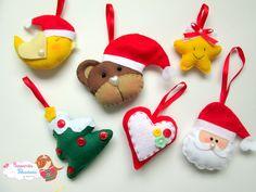 felt Christmas ornament ideas