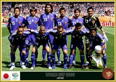 Japan team group at the 2006 World Cup Finals. 2006 World Cup Final, Fan Picture, Fifa World Cup, Croatia, Finals, Germany, Japan, Baseball Cards, Sports