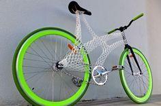 Meet designer James Novak and his stunning printed bike frame Velo Design, Bicycle Design, Design Design, Impression 3d, Cool Bicycles, Cool Bikes, James Novak, Pimp Your Bike, Bici Fixed