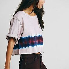We The Free Womens We The Free Washed Hem Tee
