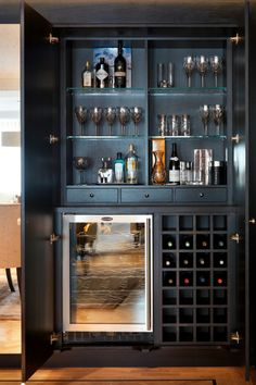 Another Cabinet Style Bar. Very Cool.