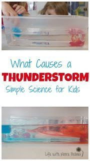 A simple way to demonstrate how storms form! #science #weather #scienceexperiment #storm #homeschool