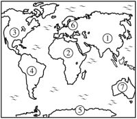 Learn continents and oceans with this puzzle and