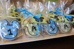 Baby Mickey Cookies