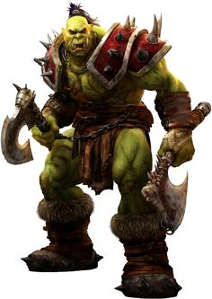 Image detail for -File:3D-Orc.png - Wowpedia - Your wiki guide to the World of Warcraft