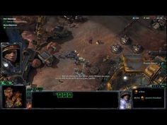 Starcraft 2 wings of liberty walkthrough HD part 2   TheOutlaws PC PS3 x...