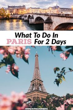 This 2 days in Paris itinerary will show you everything to do in Paris in two days! You will find out how to see Paris in 2 days in this easy guide! Paris France Travel, Paris Travel Guide, Europe Travel Tips, European Travel, Travelling Europe, Travel Guides, Backpacking Europe, Road Trip Europe, Hotel Des Invalides