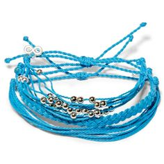 Blue Lagoon Set  - Weltfreund Armbänder