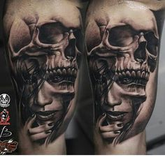 Tattoos 3d, Creepy Tattoos, Forarm Tattoos, King Tattoos, Dope Tattoos, Great Tattoos, Body Art Tattoos, Tattoos For Guys, Tattoo Art