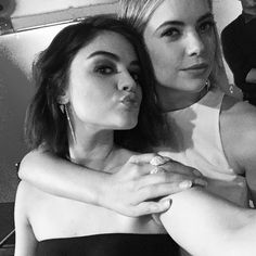 Lucy Hale and Ashley Benson