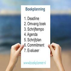 Help, hoe maak ik een planning voor mijn boek?