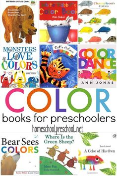 It is so important to read aloud to little ones. This collection of color books is perfect for introducing preschoolers to colors and color words. via Homeschool Preschool Source by homeschlprek Preschool Color Activities, Preschool Literacy, Preschool Lessons, Toddler Activities, Preschool Activities, Preschool Color Theme, Kindergarten Colors, Daycare Curriculum, Vocabulary Activities