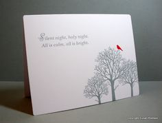 Papertrey Ink Through the Trees & Silent Night stamp sets