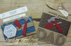 Masculine Gift Card Holder and package by starzlmom28 - Cards and Paper Crafts at Splitcoaststampers