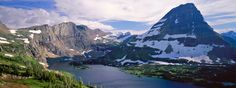 Glacier National Park- Summer months open the park's famous backcountry, which is home to more than 700 miles of trails.