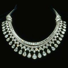 diamond necklace   Diamond Necklace Set - Delhi