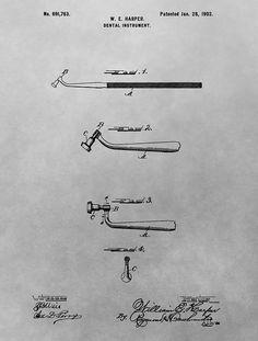 Dental Instrument Patent Drawing