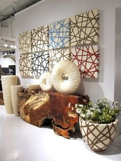 DIY art for interior! awesome creativity in home decoration. #DIY #decor