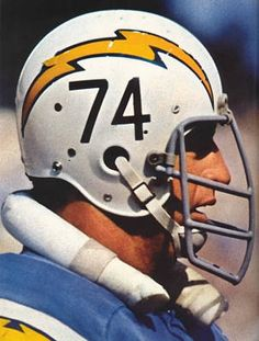 Ron Mix of the San Diego Chargers