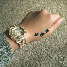 small swallow tattoo #ink #YouQueen #girly #tattoos