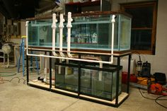 Silent and Failsafe Overflow System - Page 29 - Reef Central Online Community Aquarium Sump, Aquarium Stand, Diy Aquarium, Aquarium Filter, Aquarium Design, Aquarium Ideas, Saltwater Aquarium Setup, Saltwater Fish Tanks, Pisces
