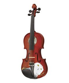 Look what I found on #zulily! Natural Mystic Owl Violin Set by Rozanna Violins #zulilyfinds