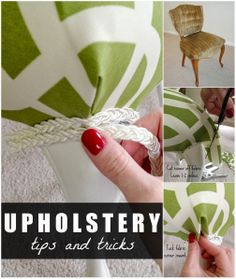 Upholstery tips & tricks you should know when redoing old chairs! Upholstery tips & tricks you should know when redoing old chairs! The post Upholstery tips & tricks you should know when redoing old chairs! appeared first on Upholstery Ideas. Do It Yourself Decoration, Do It Yourself Design, Do It Yourself Inspiration, Sewing Hacks, Sewing Crafts, Sewing Projects, Diy Crafts, Furniture Projects, Furniture Makeover