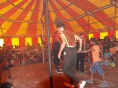 saharauis en el circo