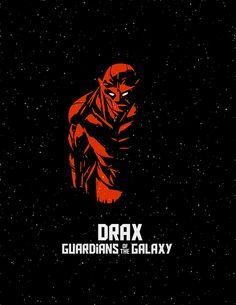 Guardians of the Galaxy Minimalist Art on Behance