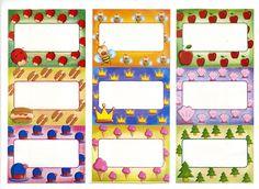 cartelitos nombres maestra infantil Décoration Harry Potter, Class Decoration, Classroom Decor, Gift Tags, Free Printables, Album, Frame, Gifts, Color