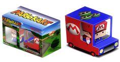 BoxZet Papertoy Mariokart