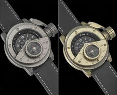 The first model in the range is the Retrowerk Compass, (pictured below) which comes with a detachable compass, and you can get it in a choice of stylish finishes including worn steel and brass.