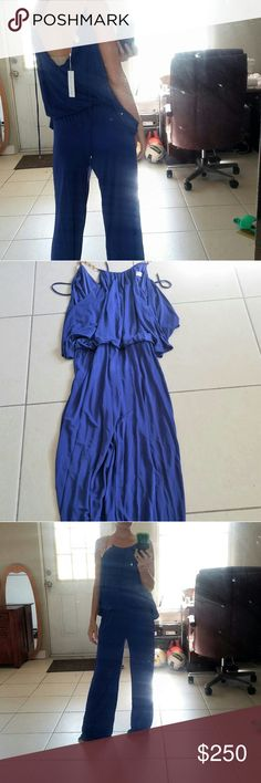 Clearence NWT Elegant Trina Turk Maxi Romper. Brand new with tag . Gorgeous. Trina Turk Dresses Maxi