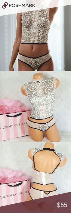 Victoria's Secret Dream Angels Bustier Set 34C Padded, Underwire  Matching Panty Small Victoria's Secret Intimates & Sleepwear Bras
