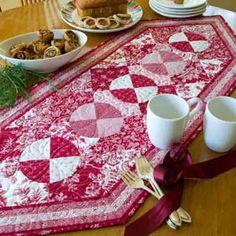 Antique Circles Table Runner Quilt (http://www.mccallsquilting.com/content_downloads/Antique_Circles_Web_Bonus.pdf)