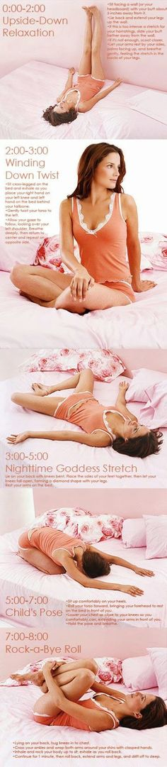"""8 Minute """"Workout"""" For Better Sleep"""