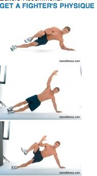 mixed martial arts ab routine