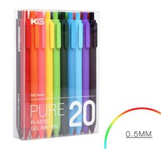 Cheap ball pen, Buy Quality ballpoint pen directly from China good ballpoint pen Suppliers: 20 colors Lovely Candy Ballpoint Pen Good Quality Gel Pen Kawaii Plastic Ball Pen For kids Gift School supplies stationery Stationary Store, Stationary School, Cute Pens, Gel Ink Pens, Office And School Supplies, Pen Sets, Ballpoint Pen, Stationery, Study