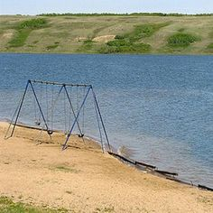 Manitou Beach, Saskatchewan, the swings are no longer there