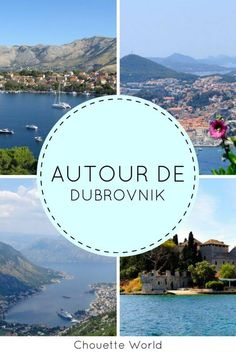 Idées d'excursions depuis Dubrovnik #croatie #croatia #dubrovnik #roadtrip