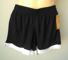 C9 by Champion Women's S Small Mesh Drawstring Athletic Gym Fitness Shorts Black #Champion #Shorts