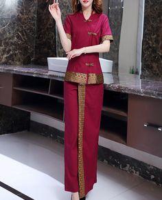 Source Beauty Spa Salon Uniform Antistatic Uniform on m.alibaba.com