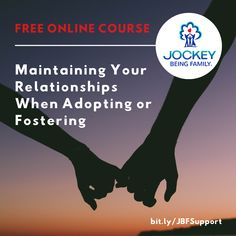 Thanks to the generosity of our partners @JockeyBeingFam, we are offering you this FREE COURSE on nurturing and maintaining your marriage or partnership! Go to bit.ly/JBFSUPPORT to learn more. Apply the coupon code JBFSTRONG at checkout. #adoption #fostercare #kinshipcare Single Parenting, Kids And Parenting, Adoption In California, Kinship Care, Types Of Adoption, Foster Care System, International Adoption, Foster Care Adoption, Foster Family