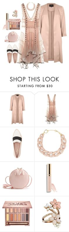 """""""The Lighter Side of Fall"""" by loves-elephants ❤ liked on Polyvore featuring River Island, Alexander McQueen, Kate Spade, DIANA BROUSSARD, Beautycounter, Urban Decay and Accessorize"""