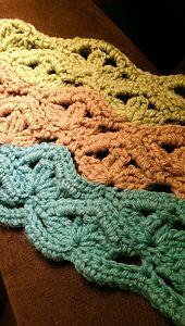Ravelry: Irish Wave Baby Afghan pattern by Elizabeth Mareno