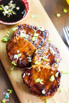 Pork on a board - Half Syn Sticky Chinese BBQ Pork | Slimming World