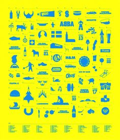 All the awesome things from Sweden! I love my Swedish roots, and therefore by default love IKEA and lutefisk!